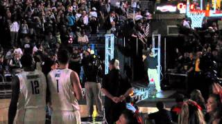 INTRODUCTION OF PLAYERS - University Of Connecticut First Night 2011 Part 2