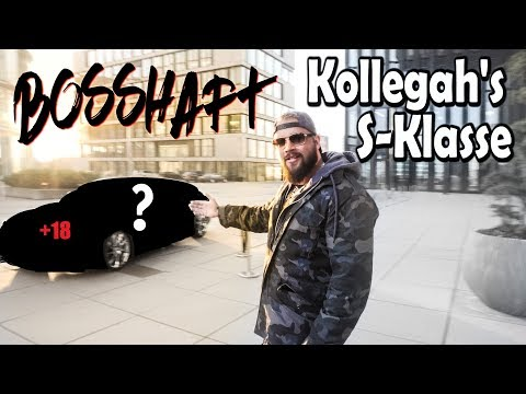 Kollegah bekommt endlich seine Bosshafte S-Klasse AMG !!!!   Folienprinz