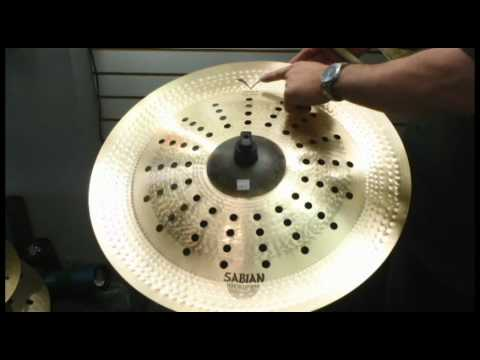 sabian holy china by chad smith kabang youtube. Black Bedroom Furniture Sets. Home Design Ideas