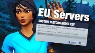 (EU) FORTNITE CUSTOM MATCHMAKING *LIVE* SOLO/DUO/SQUAD|PS4 PC XBOX MOBILE SWITCH|