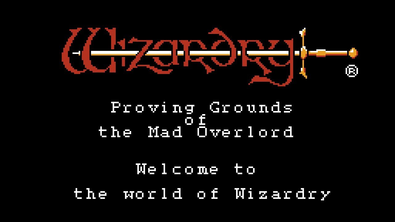 wizardry proving grounds of the mad overlord nes
