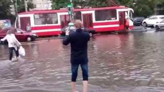 Жесть! Петербург утонул!