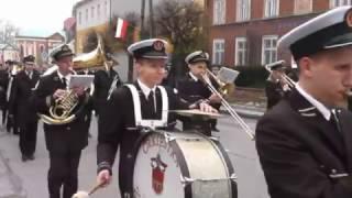 Święto Konstytucji 3 Maja -2017 przemarsz -Miejska Orkiestra Kalwarii Zebrz.