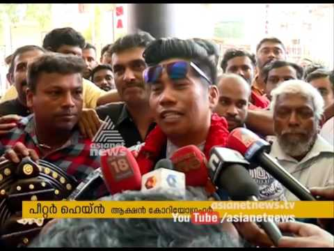 Peter Hein in Thiruvananthapuram