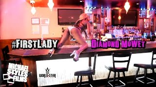 FIRSTLADY Diamond MoWet sexy model /dance video