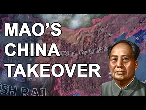 Mao's ONE CHINA TAKEOVER!!!! -PART 1 (HOI4 PRC SPEEDRUN)