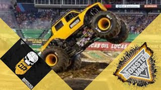 Monster Jam Brodozer freestyle run, favorite truck
