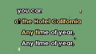 D Felder Hotel California karaoke