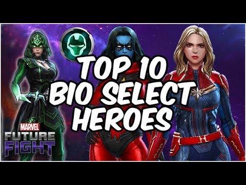 Top 10 BEST Biometric Selector Characters! Update 4.8 – Marvel Future Fight