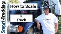 How to Scale a Tractor Trailer - Setting Up the Axles