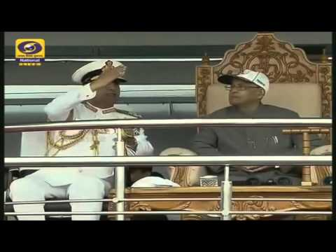 IFR India 2016 - 25 minutes video of Roof Enclosure on INS Sumitra