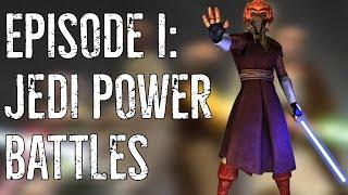 Machamy mieczem - JEDI POWER BATTLES [Retro Wars]