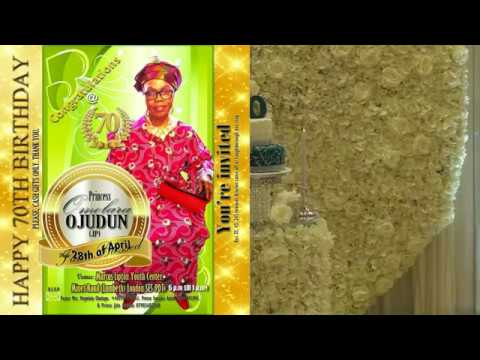 Princess Omolara Ojodun @ 70