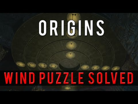 ORIGINS - HOW TO SOLVE THE WIND STAFF PUZZLE TUTORIAL (Black Ops 2 Zombies)