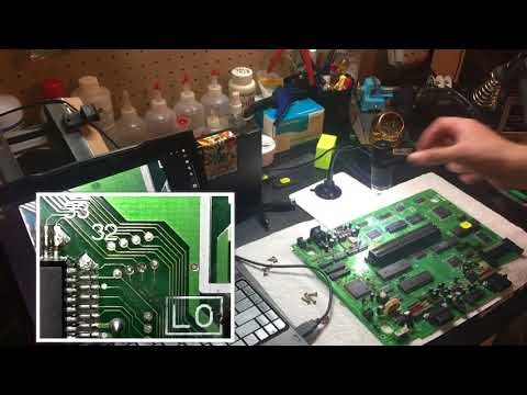 Neo Geo AES repair (corroded traces) ft. jailbar fix, UniBIOS install, & LM2576 update