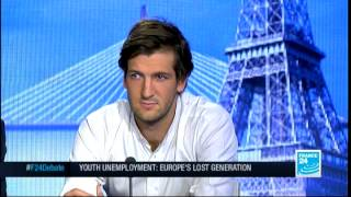 Youth Unemployment: Europe's Lost Generation (Part 1) - #F24Debate