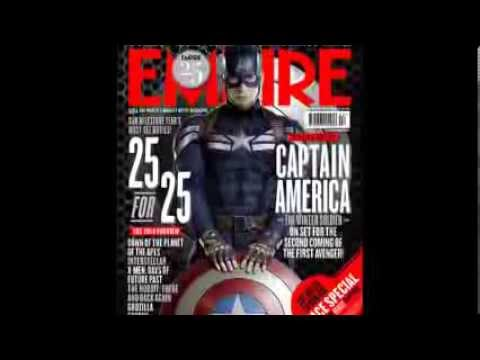 Two Captain America The Winter Soldier Empire Magazine Covers
