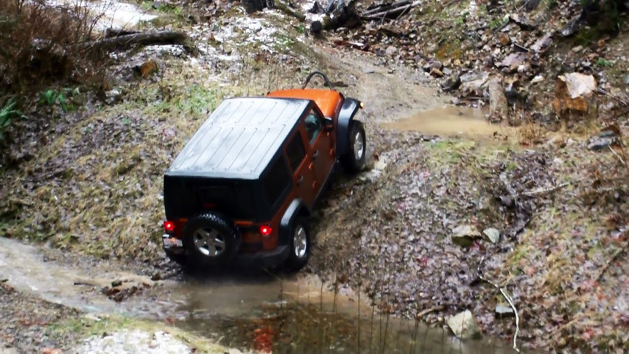 Jeep Off Road Movies  Splash  YouTube