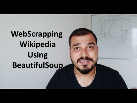 Perform Web Scraping On Wikipedia- Data Science