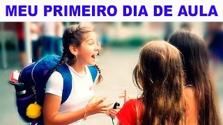 MEU PRIMEIRO DIA DE AULA - Mileninha - 10 anos
