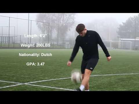 Tiuri Schieving - Winger/Midfielder College Soccer Fall 2018 Transfer Recruiting Video