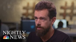 Exclusive: Twitter CEO Jack Dorsey On Alex Jones' 'Timeout' | NBC Nightly News