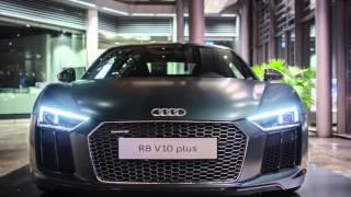 Audi R8 V10 Plus at Audi Forum Ingolstadt(Meine Bilder vom neuen Audi R8 V10 Plus in einer kleinen Diashow!:), 2015-12-27T20:00:13.000Z)