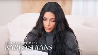 Kim Kardashian Explains How She Picks Criminal Justice Cases | KUWTK | E!