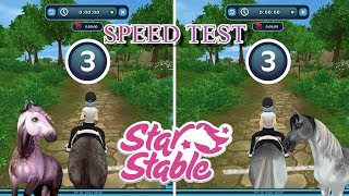 Speed Test Andaluian Vs Paint Horse Star Stable Online