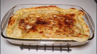 Delicious Tasty Creamy Chicken Mushroom Pie - Amazing Homemade Recipe