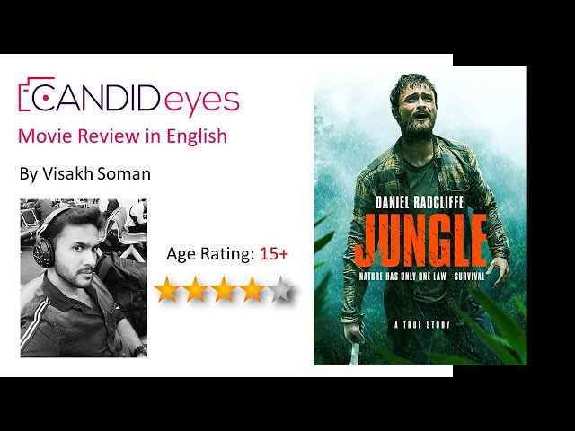 Adventure Drama Based on a True Story - Jungle (2017) Daniel Radcliffe Movie Review in English