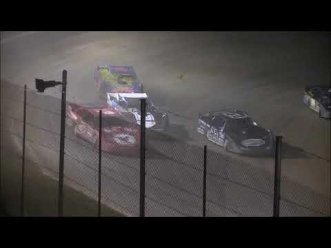 Super Late Model Feature from Atomic Speedway, October 6th, 2018. - dirt track racing video image