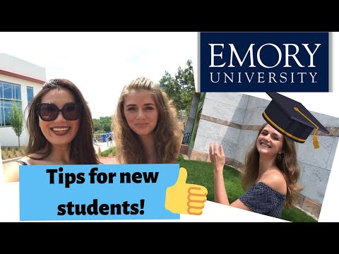Edu Guide Lab: Emory University Tour - Tips For Any New Student!