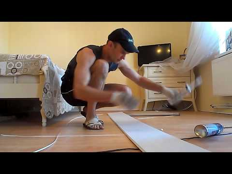видео: Обрамление нестандартных углов безшовным пластиком.