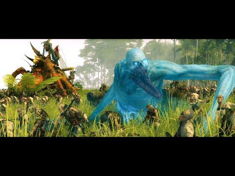 Battle for Slann Gold | Vampire Coast Vs Lizardmen | Epic Total War Warhammer Battle |