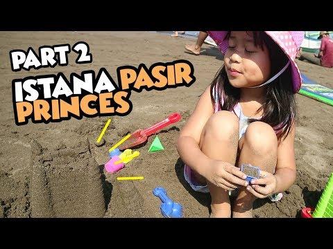 Bikin Istana Pasir Harga 5 Juta wkwkwk  -  Pangandaran Trip  Part 2
