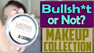 Bullsh*t or Not? Makeup Collection Makeup Products  (2018) are they pigmented ? | Claire Tutorials