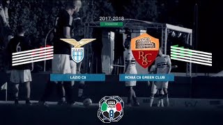 SS Lazio C8 3-2 Roma C8 Green Club | Play-Off Scudetto - Semifinale (Andata) | Highlights