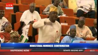 Ministerial Confirmation:Senate Confirms Amaechi, 17 Other NomineesPt 5