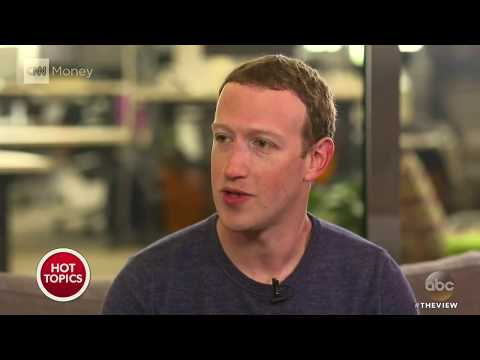 Mark Zuckerberg Says Sorry For Data Theft On Facebook | The View