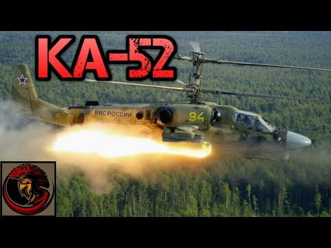 Russian Ka-52 Alligator Reconnaissance Attack Helicopter