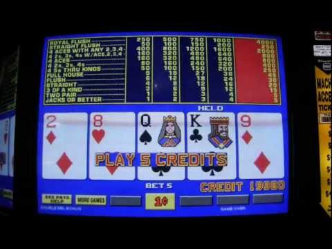 Poker Slot Machine Online