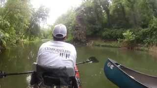 Kayak and Canoe Fishing in Northern AR