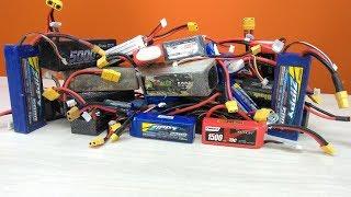 RC новачок №9 ... Акумулятори, якого виробника вибрати...