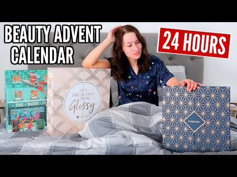 I Only Used Beauty Products From An ADVENT CALENDAR For 24 HOURS...