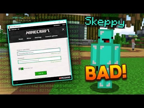 """""""Hacking"""" Skeppy's Minecraft Account"""