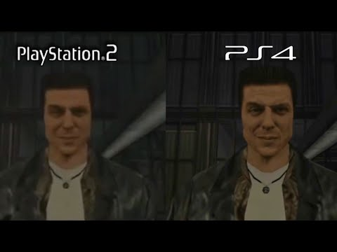 Max Payne Ps2 Vs Ps4 Graphics Comparison Youtube