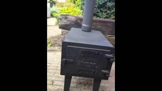 Wildo buiten kachel Wildo outdoor wood stove