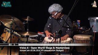 Trilok Gurtu - Percussion Solo 1 - Open World Stage 2016 Konzert @ Laboratorium Stuttgart