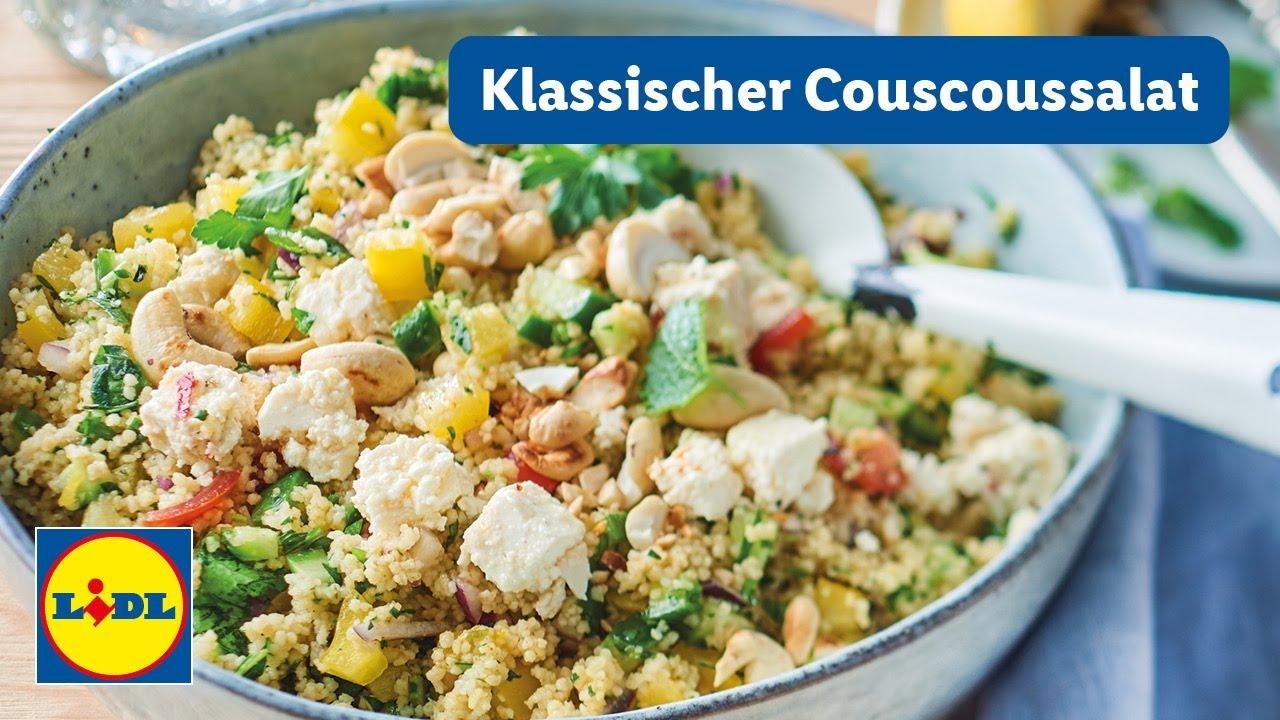 Klassisches Couscoussalat Rezept | 30min | Einfach | Lidl Kochen